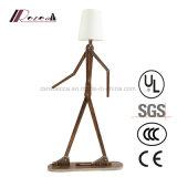 Lámpara de suelo ajustable de la dimensión de una variable divertida creativa del hombre