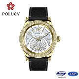 Rose de oro del deporte del cronógrafo relojes de los hombres