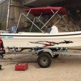 18FT FRP Outboard Type Center Console Barco de pesca Venda quente
