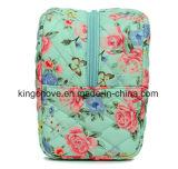 Le plus défunt nylon de mode avec le sac cosmétique d'impression (KCCA012)