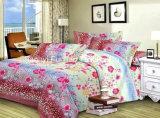 Venta al por mayor de fábrica de algodón material de acolchado de tela moderna colcha de cama conjunto de cama cubierta de la hoja tamaño de la reina