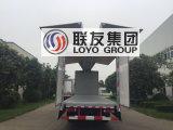 Carro del cargo de Wingvan de la aleación de aluminio de Sinotruk HOWO A7 6X4