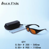 Proteggere gli occhiali di protezione di sicurezza del laser 532nm & 1064nm per ND: YAG Q ha passato 532 & le attrezzature mediche e dell'ospedale di 1064nm, dei laser di YAG,