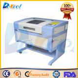 Vidro do laser do CO2 & máquina de gravura do cristal para os ofícios Dekj-6040