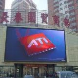 Publicidad de la pantalla de visualización al aire libre a todo color de LED P8