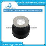 Luz subacuática al aire libre ahuecada LED de la lámpara del poder más elevado LED