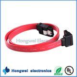 Градусов PVC плоские 90 SATA кабель данным по жёсткия диска серийного порта