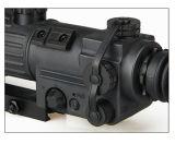 27-0013 óculos de proteção infravermelhos de caça táticos do espaço da visão noturna 2.5X do valor máximo de concentração no trabalho 350 da geração de Iit do tiro de Airsoft Monocular