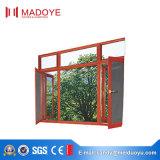 Finestra di vetro della stoffa per tendine di disegno semplice di prezzi di fabbrica con lo schermo della mosca