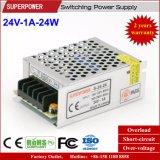 24V 1A 24W de Levering van de Macht van de Omschakeling voor Printer wordt gereserveerd die