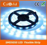 Tira impermeable del alto brillo SMD5050 DC12V LED de RoHS del Ce