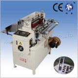 EVA máquina de corte con el estante Elevación de materiales