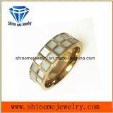 Bague de bijou d'acier inoxydable de qualité