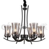 Lámpara pendiente de la promoción grande de la cantidad con la cortina de cristal (SL2246-8)