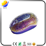 La souris optique de souris à haute teneur neuve de diamant