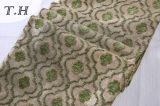 家具製造販売業のシュニールのジャカードソファーファブリック(fth31821)