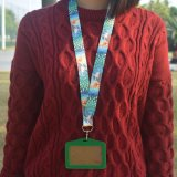 Keychain学生のカスタムIDのカードのための涼しい締縄