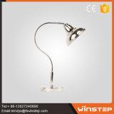 신식 60W 현대 철 호텔 침대 탁자 램프