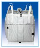Tipo-c de canto transversal saco maioria grande de FIBC com bico de enchimento