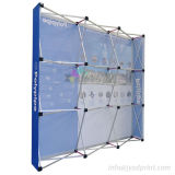 Custom impresso portátil Durable Fold Tradeshow Pop Up Display Stand