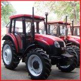80HP, trattore agricolo di 4WD Yto, trattore agricolo, trattore a ruote (YTO-X804)