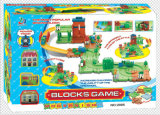 Trenes Conjunto Bloques del juguete con el mejor material