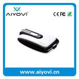 Côté portatif de pouvoir d'affaires avec l'écouteur sans fil de Bluetooth 4.0