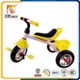 Рамка ходких игрушек детей стальная и место PU трицикл ребенка с задней корзиной