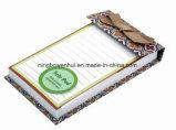 Libreta de encargo del lazo del pegamento de la alta calidad con la cinta
