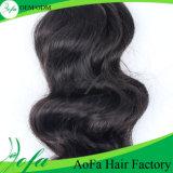 Волосы черной девственницы поставщиков Гуанчжоу людские малайзийские
