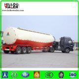 60 ton 3 de Aanhangwagen van Bulker van het Cement van de As, Dieselmotor of ElektroMotor