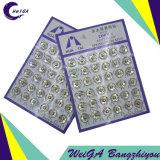 Branco da tecla 3# da imprensa dos acessórios do vestuário do metal do chapeamento de Hua TAI