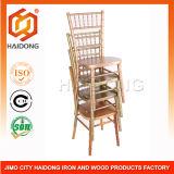 舞踏室のChiavari中国の堅い木製のTiffanyの椅子