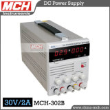 60W 30V 2A Continuously Variable Single Channel Output Linear Digital Gleichstrom Power Supply, Digital Gleichstrom Power Supply mit CER u. RoHS (MCH-302B)