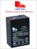 Bateria acidificada ao chumbo amigável recarregável da potência