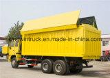 Sinotruk Lastkraftwagen mit Kippvorrichtung für 6X4 Laufwerksart Kipper