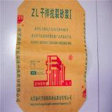 Напечатанный блок бумаги Kraft/квадратный нижний мешок клапана 50kg