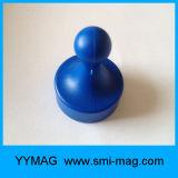 Personalizado de plástico ABS de alta calidad imán de gran alcance Oficina Chincheta
