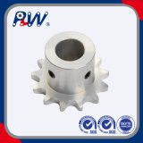Roda dentada Zinc-Plated da indústria (12T, 13T, 14T)