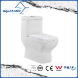 한 조각 넘치는 정연한 정면 사발 화장실 (ACT8825) Siphonic는 이중으로 한다