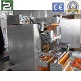 Pâte à pied horizontale Machine d'emballage à double ligne à quatre côtés