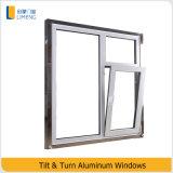 Metal Windows de vidro da inclinação & da volta para o material de construção