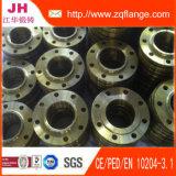 A flange do aço de carbono de DIN2502 Pn16/Plat a flange