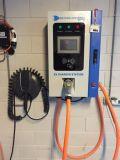 Het Laden van het elektrische voertuig gelijkstroom Post in China wordt gemaakt dat