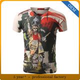 Sublimation adulte faite sur commande All Over des T-shirts d'impression