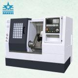 Ck32L 기우는 침대 및 선형 가이드 방법 기울기 침대 CNC 선반 기계
