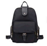 New Simple Leisure Fashion Nylon Backpack Schoolbag