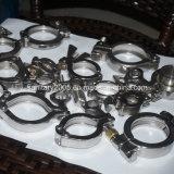 Garnitures de bride de pipe sanitaire d'acier inoxydable pour l'industrie de catégorie comestible