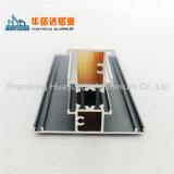 Sistema de ponte de isolamento térmico em alumínio revestido em pó