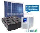 Sistema de energia portátil de painel solar para interno e ao ar livre Home